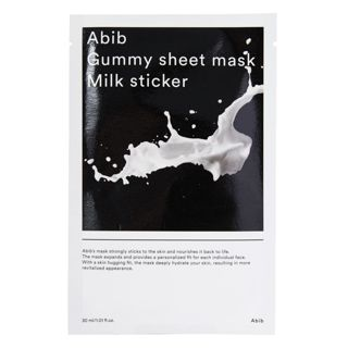 Abib ガム シートマスク ミルク 30mlの画像