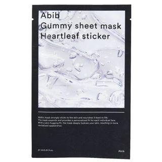Abib ガム シートマスク ドクダミ 30mlの画像