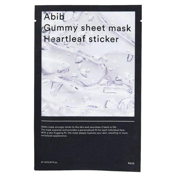 Abibのガム シートマスク ドクダミ 30mlに関する画像1