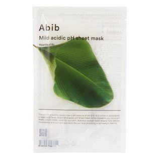 Abib マイルド アシディック pH シートマスク ドクダミ 30mlの画像