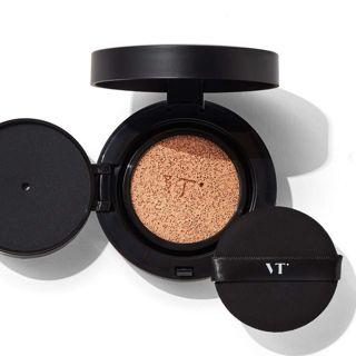 VT cosmetics ブラックフィックスオンCCクッション 23 ベージュ 11g SPF22 PA++の画像