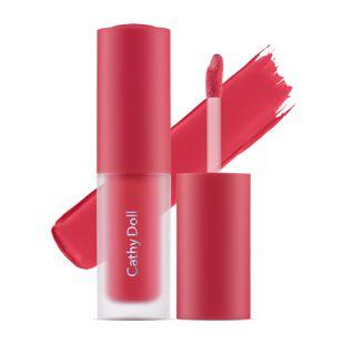 Cathy Doll リップアンドチーク ヌードマットティント 01 Charming Pink 3.5g の画像 0