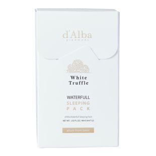 d'Alba ホワイトトリュフ ウォーターフルスリーピングパック 4ml×12本 の画像 0