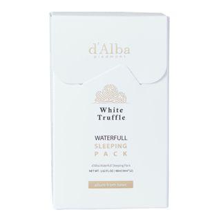 d'Alba ホワイトトリュフ ウォーターフルスリーピングパック 4ml×12本の画像