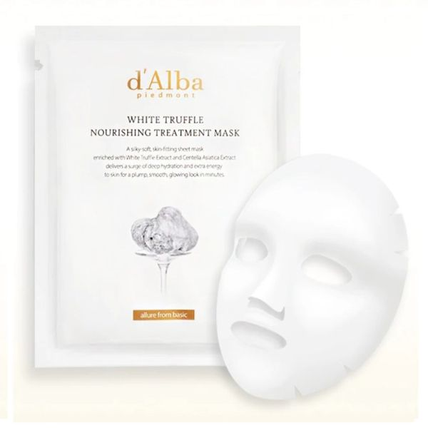 d'Albaのホワイトトリュフ ナリシングトリートメントマスク 25ml×5枚に関する画像1