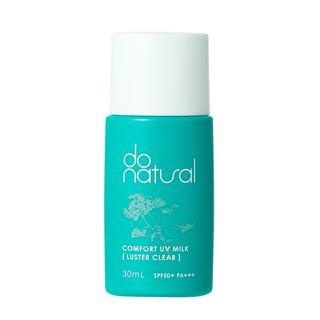 do natural コンフォート UV ミルク ラスター クリア 30ml SPF50+ PA+++の画像