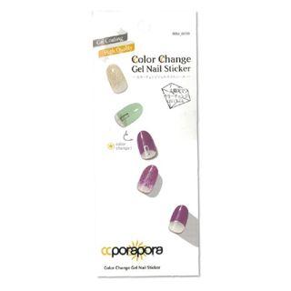 CCPORAPORA カラーチェンジジェルネイルシール BBM-0010 26pcsの画像