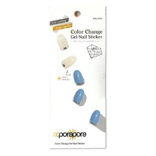 CCPORAPORA カラーチェンジジェルネイルシール BBM-0014 26pcs の画像 0