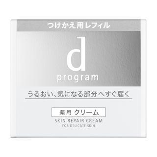 d プログラム スキンリペアクリーム <医薬部外品>【レフィル】 45gの画像