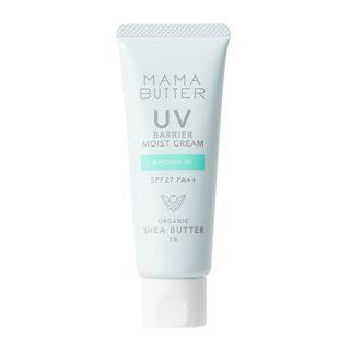 ママバター UVバリア モイストクリーム アロマインの香り 45g SPF27 PA++の画像