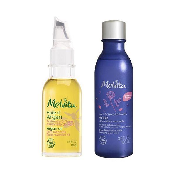 メルヴィータの化粧水ごくごく肌セット ローズ 50ml+100ml【限定キット】に関する画像1
