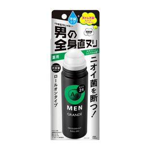エージーデオ24メン メンズデオドラントロールオン グランデ スタイリッシュシトラスの香り <医薬部外品> 120ml の画像 0