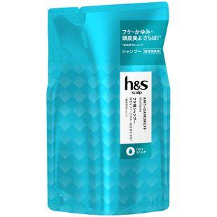 h&s h&sscalpオイリースカルプシャンプー <医薬部外品> 300ml【詰め替え】 の画像 0