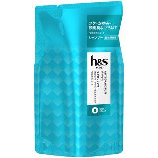 h&s h&s scalp オイリースカルプ シャンプー <医薬部外品> 300ml【詰め替え】の画像