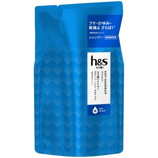 h&s h&s scalp ドライスカルプ シャンプー <医薬部外品> 300ml【詰め替え】の画像