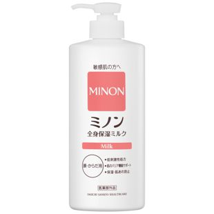 ミノン ミノン全身保湿ミルク <医薬部外品> 400ml の画像 0