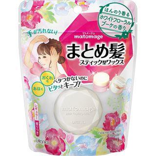 マトメージュ まとめ髪スティック レギュラー ホワイトフローラルブーケの香り 13gの画像