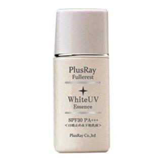 null プラスレイ(PlusRay)化粧品 フラーレスト ホワイト UV エッセンス 化粧下地 紫外線対策 A波 B波 対応 乳液タイプの画像