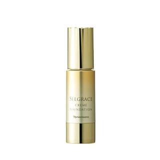 ナリス化粧品 セルグレース クリームファンデーション 530 ライトベージュ 30g SPF20 PA++の画像