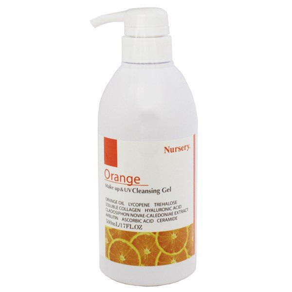 Nurseryのナーセリー Wクレンジングジェル オレンジ 500mlに関する画像1