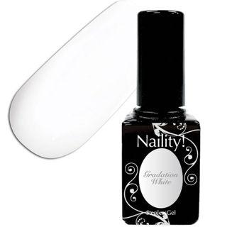 null ネイリティー ステップレスジェル グラデーションホワイト 012 ( 7g )/ Naility!(ネイリティー)の画像