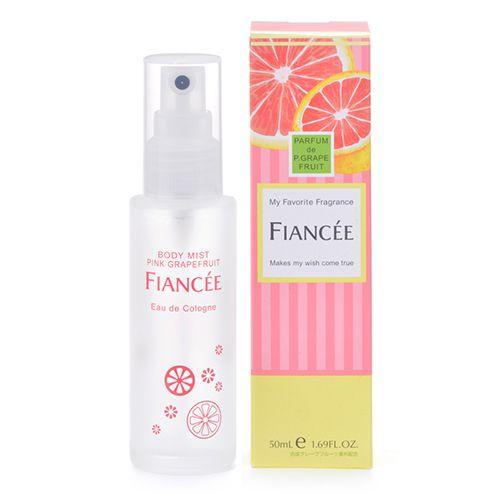 フィアンセのボディミスト ピンクグレープフルーツの香り 50mlに関する画像 1
