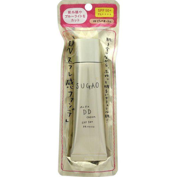 ロート製薬SUGAO AirFitDDクリーム ピュアオークル(自然な肌色)25gのバリエーション1