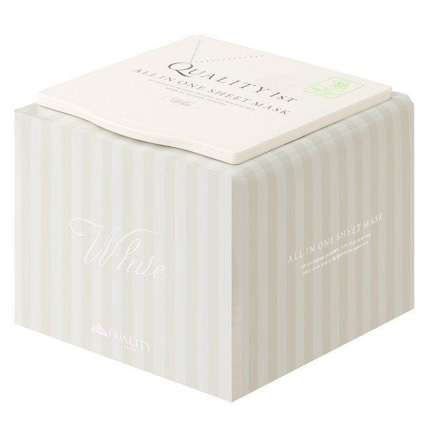 クオリティファースト オールインワンシートマスク ホワイトEX BOX 30枚入のバリエーション1