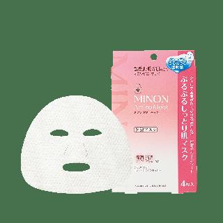 ミノン ぷるぷるしっとり肌マスク 22mL×4枚の画像