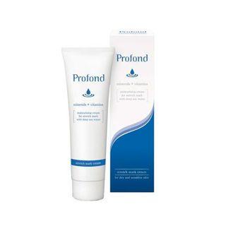 profond profond(プロフォン) ストレッチマーククリーム 乾燥肌・敏感肌用 高保湿クリーム(全身用) 100gの画像