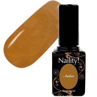 null ネイリティー ステップレスジェル アンバー 043 ( 7g )/ Naility!(ネイリティー)の画像