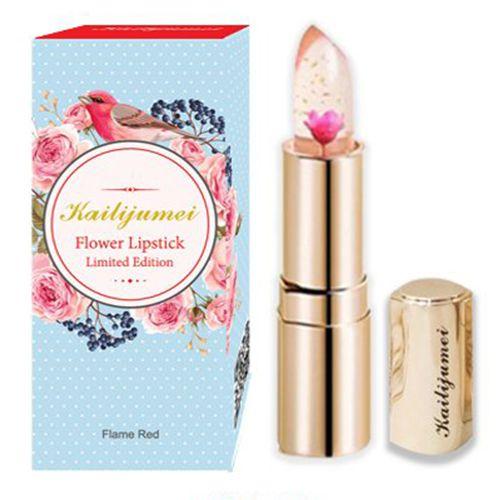 日本限定モデル リミテッドエディション kailijumei Lovely+ (ラブリープラス) 天然オイル入り 唇の温度で色が変化するリップのバリエーション1