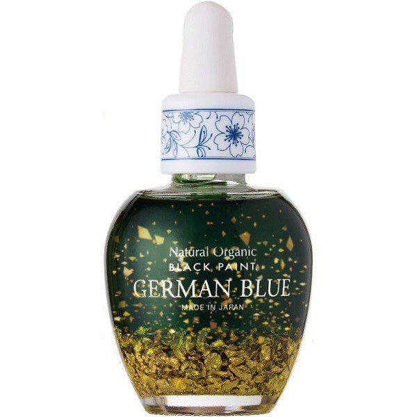 ブラックペイントのブラックペイント/プレミアムジャーマンブルーゴールド(森林の香り 緑系色)に関する画像1