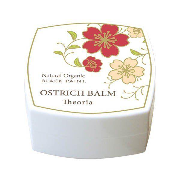 ブラックペイントのオーストリッチバーム テオリア フローラル系の香り 淡黄色 25gに関する画像1