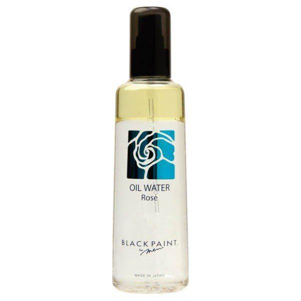ブラックペイントのオイルウォーターロゼ 天然ダマスクローズの香りに関する画像1