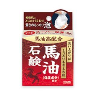 明色化粧品 桃谷順天館明色うるおい泡美人 馬油石鹸80gの画像