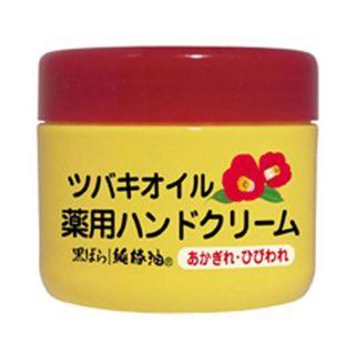 花王 ツバキオイル 薬用ハンドクリーム ( 80g )/ ツバキオイル(黒ばら本舗) ( ハンドクリーム 椿油 )の画像