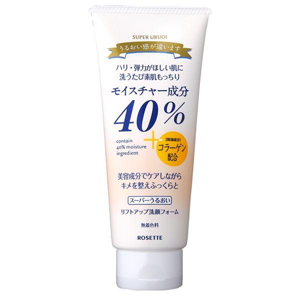 ロゼットの40%スーパーうるおいリフトアップ洗顔フォーム 168gに関する画像1