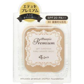 エテュセ プレミアム シフォンファンデーション 30 健康的な肌色 SPF20 PA++の画像
