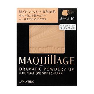 マキアージュ ドラマティックパウダリー UV オークル10 【レフィルのみ】 生産終了 9.3g SPF25 PA++の画像