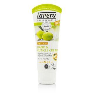 ラヴェーラ lavera ラヴェーラ ハンド&ネイルクリーム オーガニックオリーブオイル&カモミール 75mlの画像