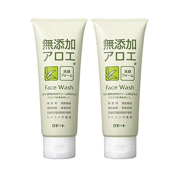 ロゼットの無添加アロエ 洗顔フォーム 140g×2個に関する画像1