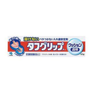 小林製薬 【小林製薬】タフグリップ 透明 65gの画像