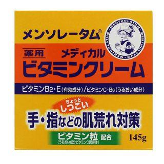 メンソレータム ロート製薬 メンソレータム ビタミンクリーム 145gの画像