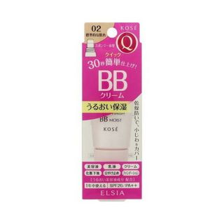 エルシア コーセー エルシア プラチナム クイックフィニッシュ BB モイスト 02 標準的な肌色 (35g) BBクリームの画像