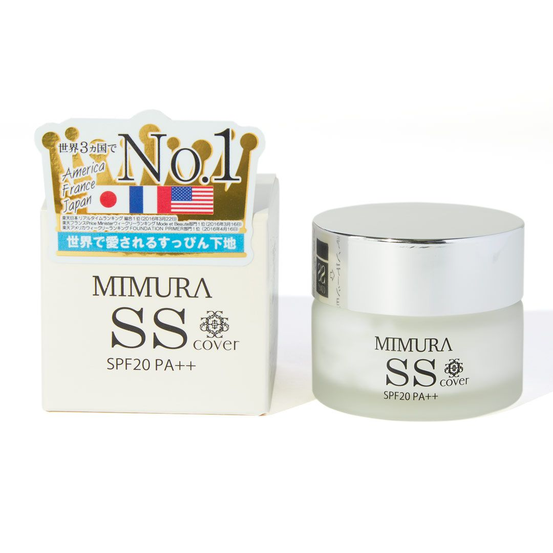 MIMURAのSS カバー 20g SPF20 PA++に関するメイン画像