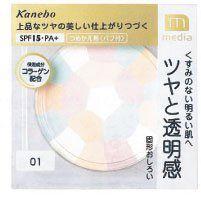 カネボウ化粧品 メディア ブライトアップパウダー クリア 01