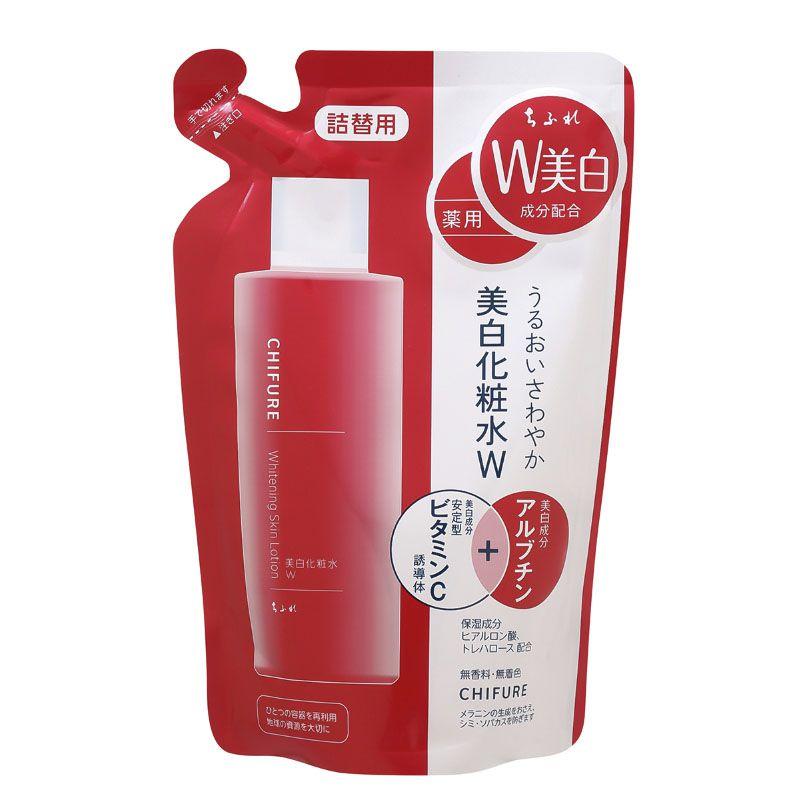 ちふれ化粧品美白化粧水 W 詰替用180ML(医薬部外品)のバリエーション2