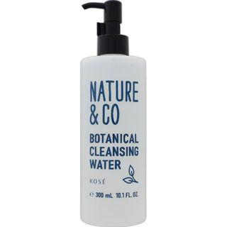Nature&Co コーセー ネイチャー アンド コー ボタニカル クレンジング ウォーター 300mlの画像