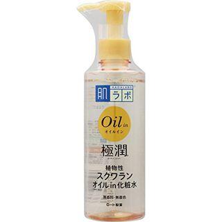 肌ラボ ロート製薬 肌ラボ 極潤オイルイン化粧水 220mlの画像